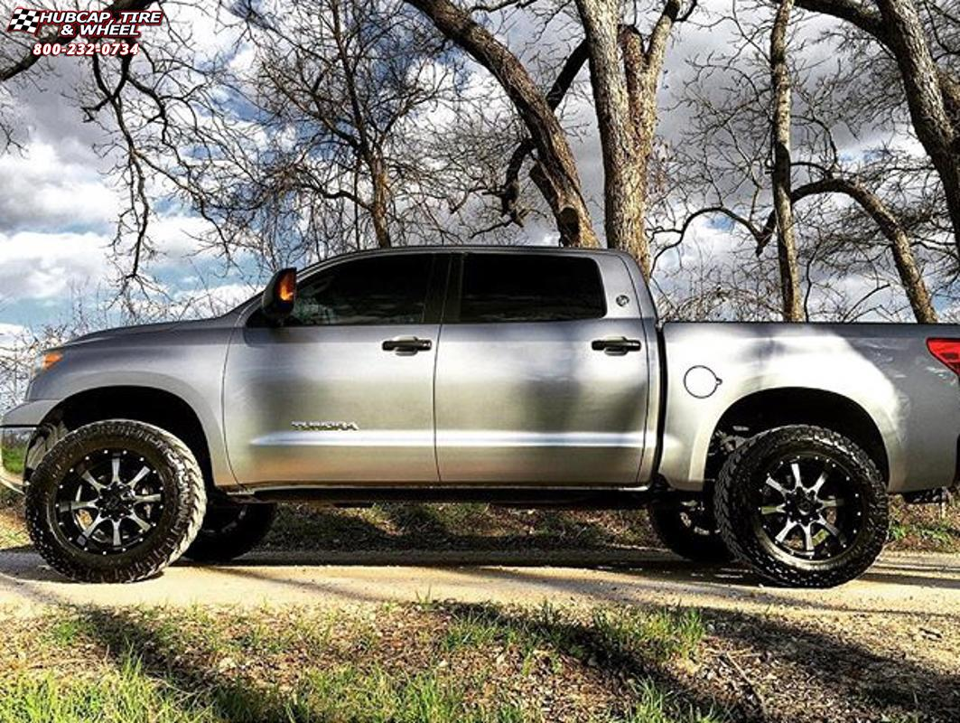 2006 toyota tundra moto metal mo970 wheels gloss black machined face. Black Bedroom Furniture Sets. Home Design Ideas