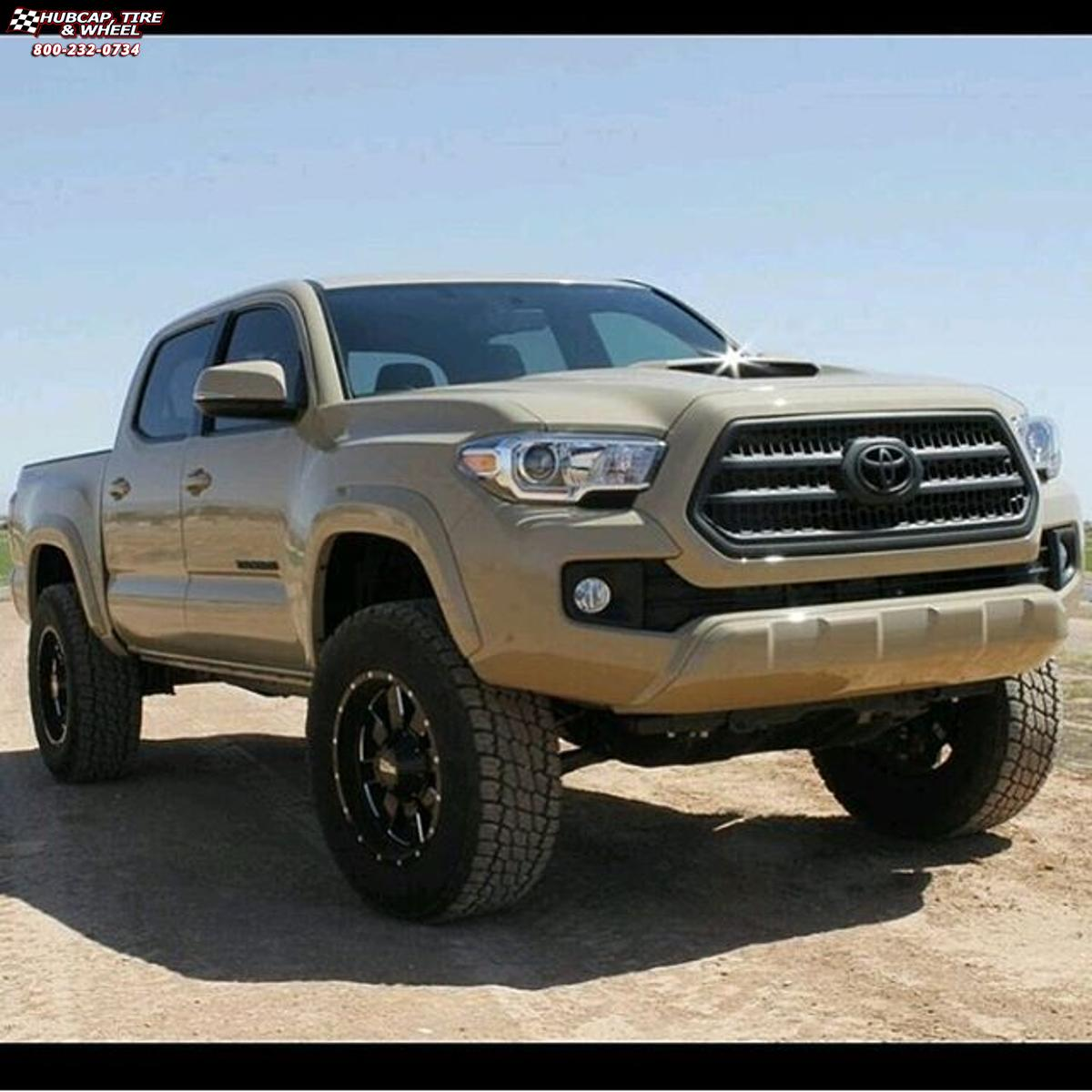 2016 toyota tacoma moto metal mo962 wheels gloss black. Black Bedroom Furniture Sets. Home Design Ideas