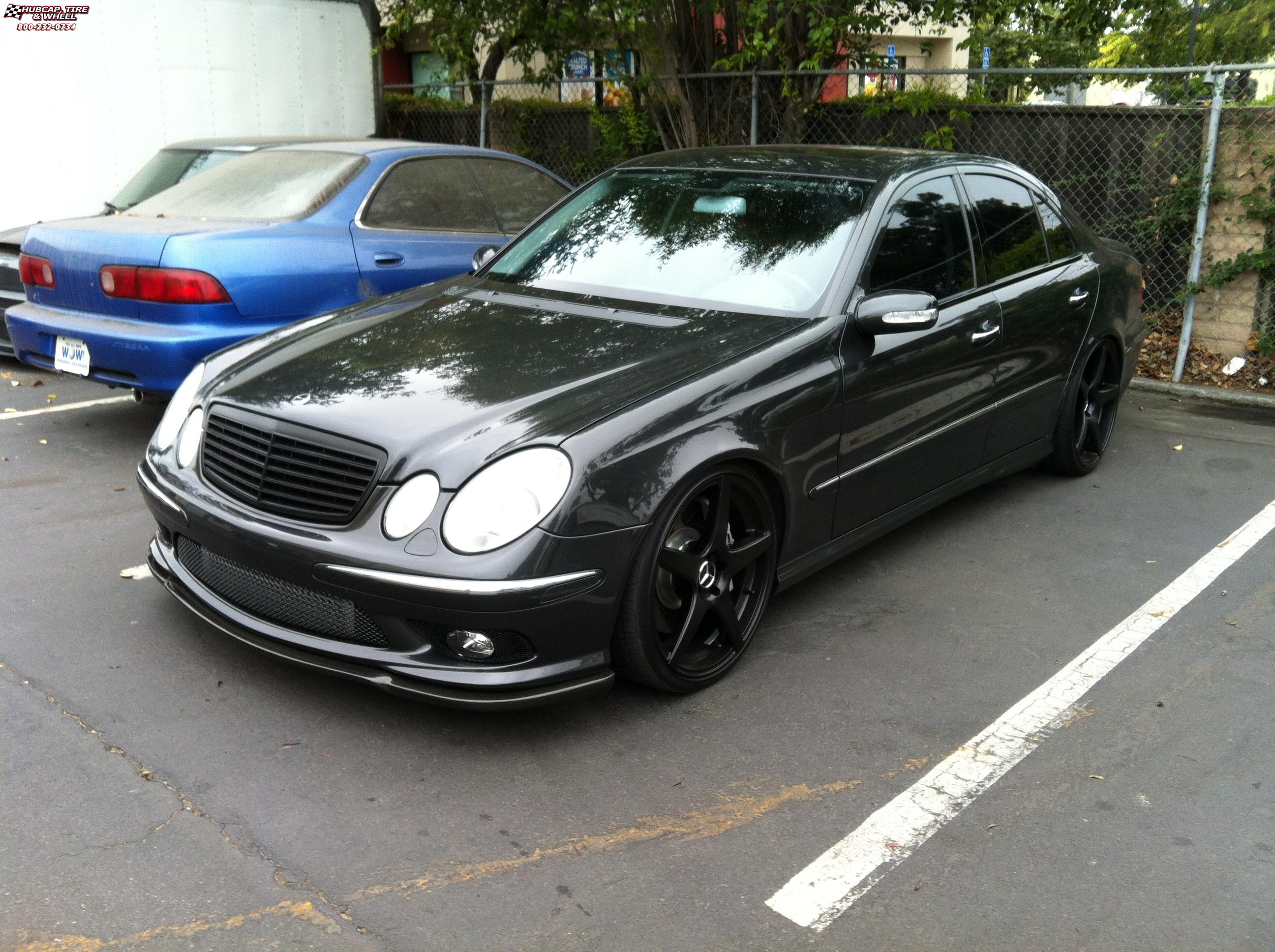 Mercedes benz e63 niche gt 5 m133 wheels satin black for Mercedes benz wheel and tire protection