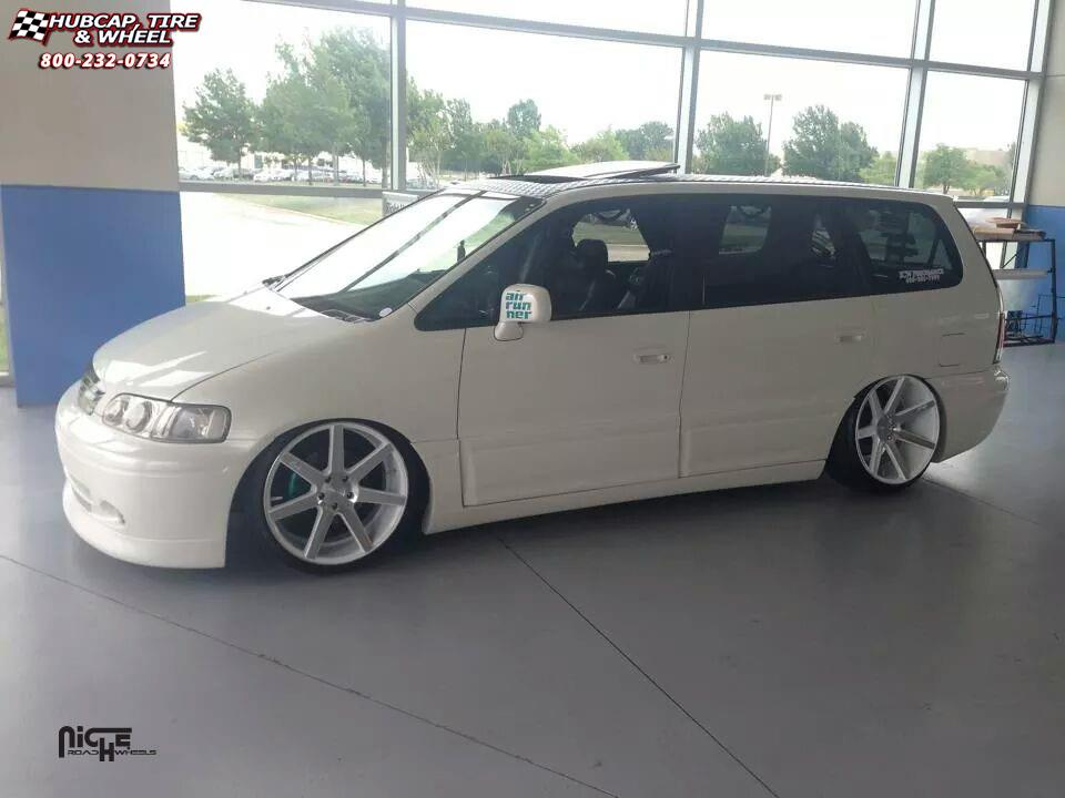 Honda odyssey niche verona m151 wheels gloss white for 1999 honda accord tire size