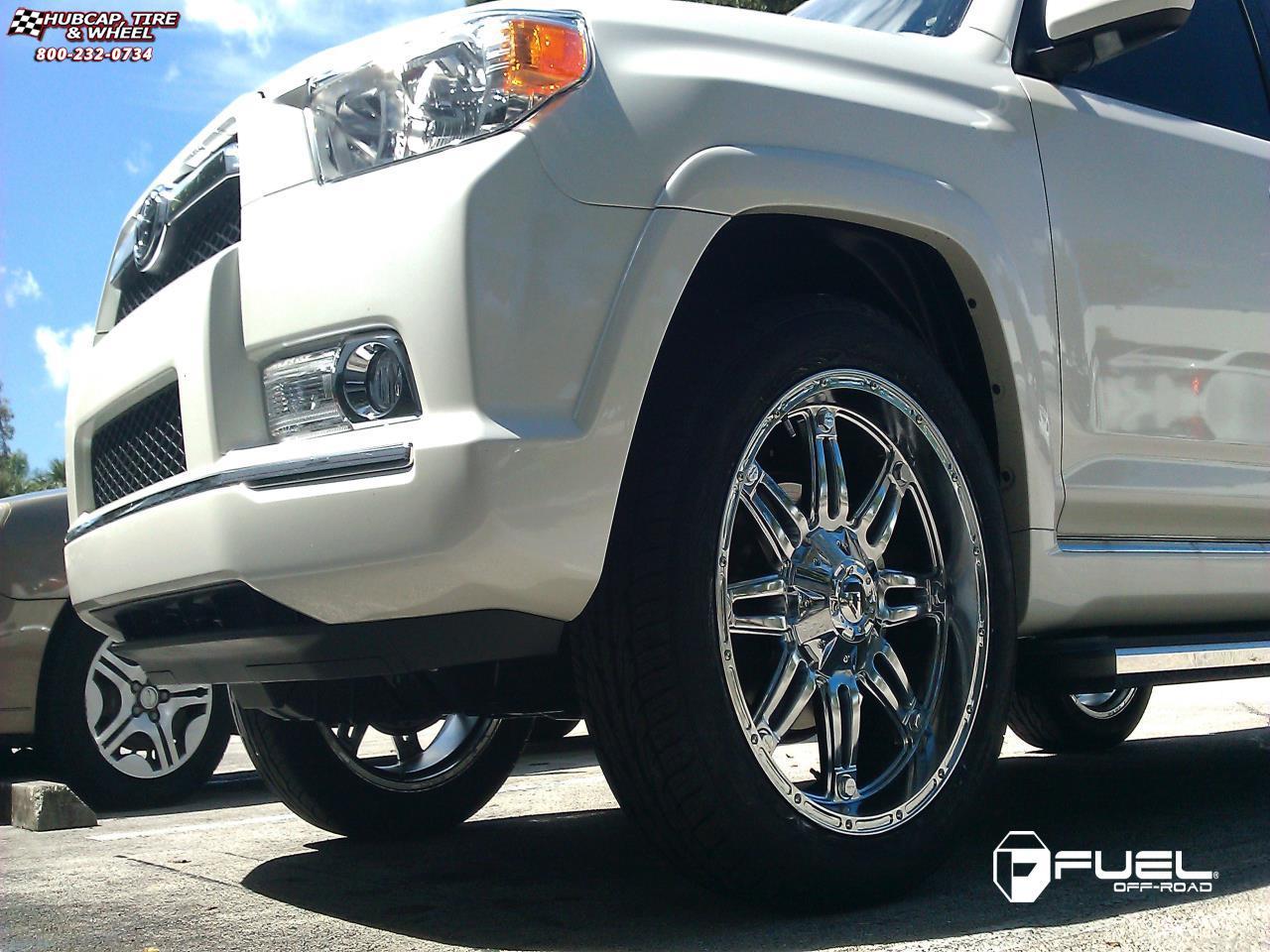 Toyota 4runner Fuel Hostage D530 Wheels Chrome