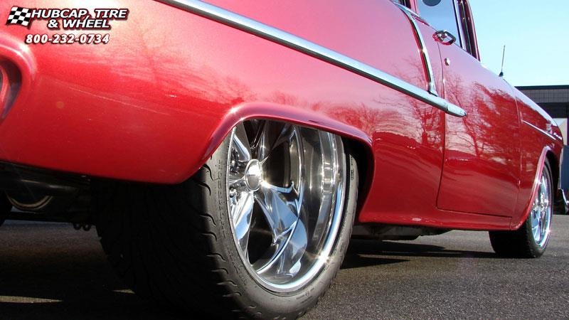 Rim And Tire Package >> 1955 Chevrolet Bel Air Foose Nitrous SE F300 Wheels Chrome