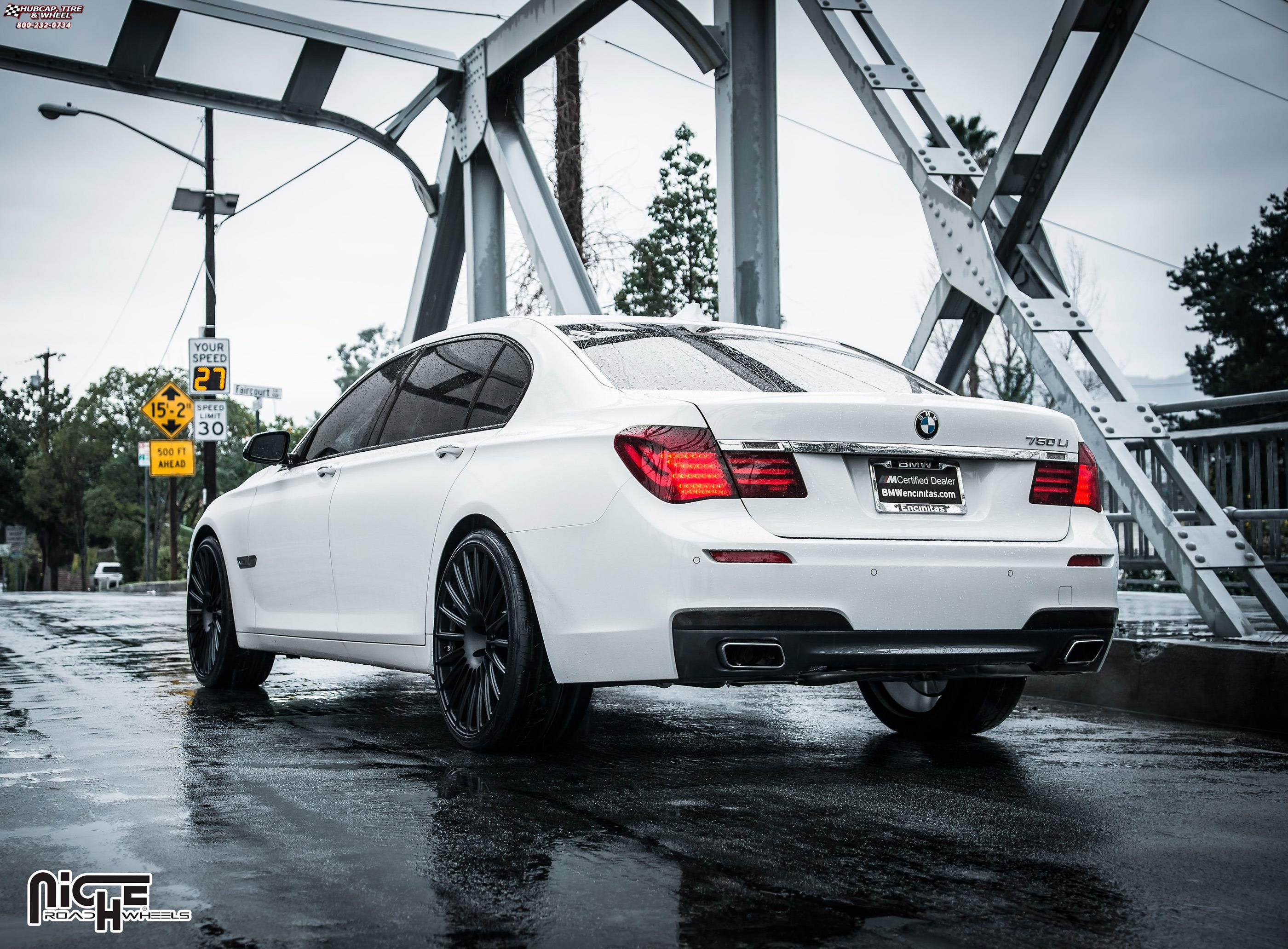 2012 BMW 750Li >> BMW 750 Li Niche Stance Wheels Matte Black