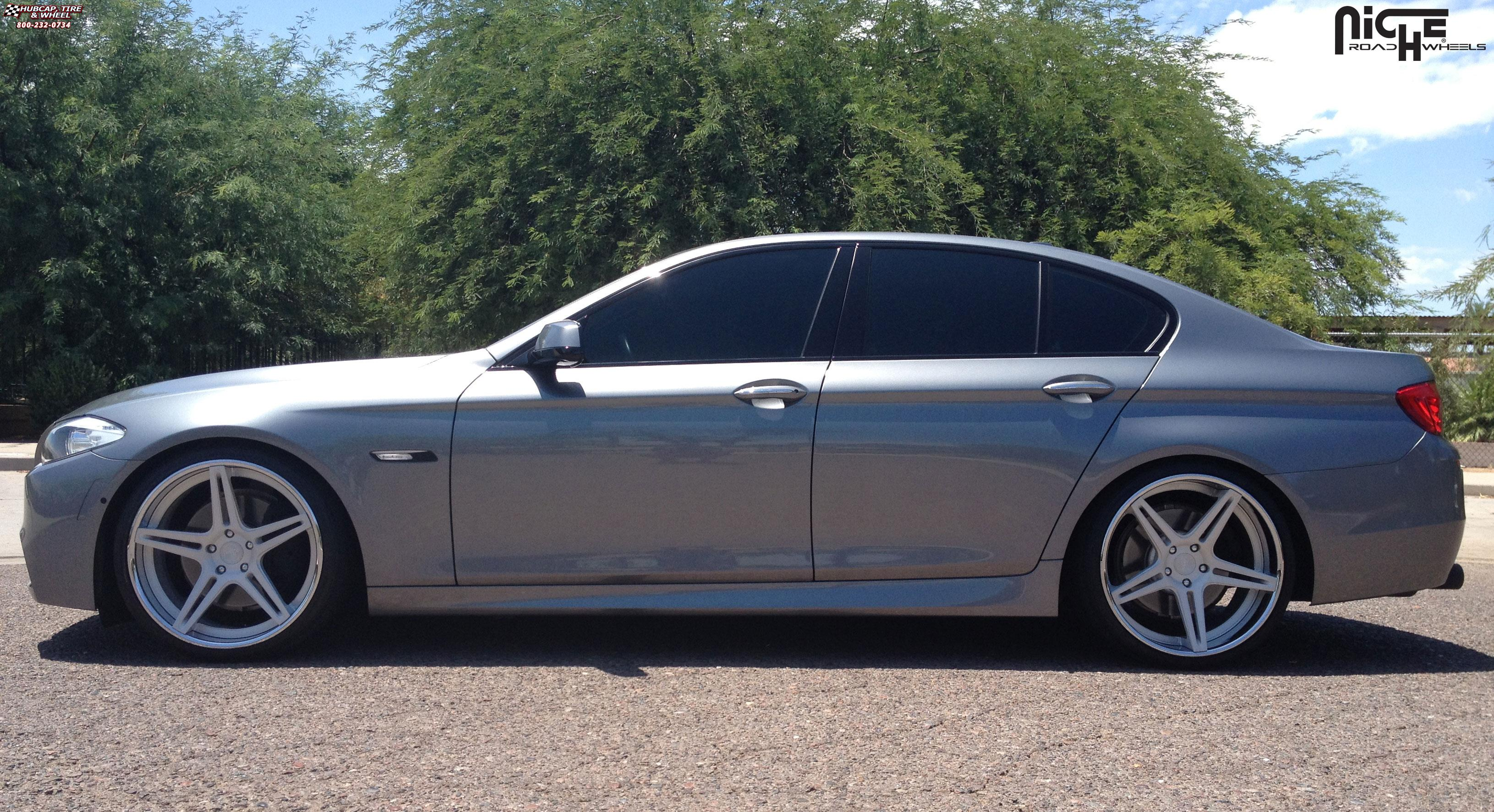 Bmw 335i Convertible >> BMW 550i Niche Sportiva - M207 Wheels Brushed   Hi Luster Polished Lip