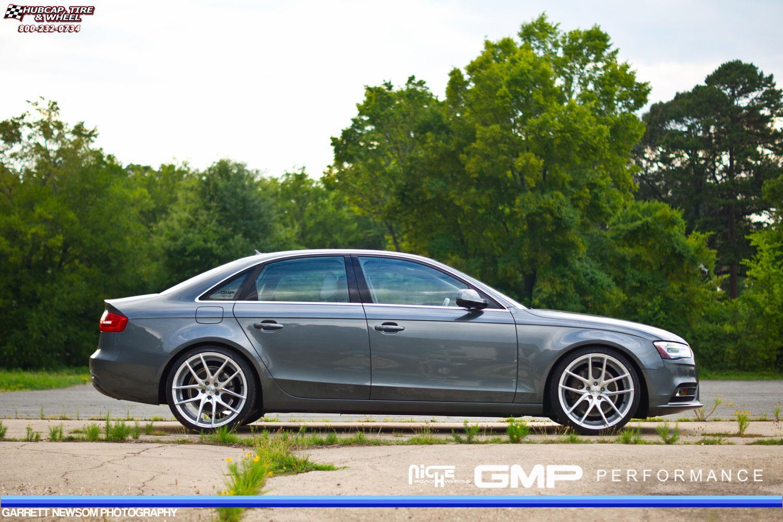 Audi A4 Niche Targa M131 Wheels Silver Amp Machined