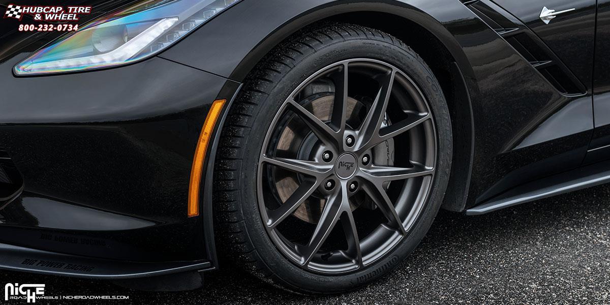 Chevrolet Corvette Niche Misano M116 Wheels Anthracite