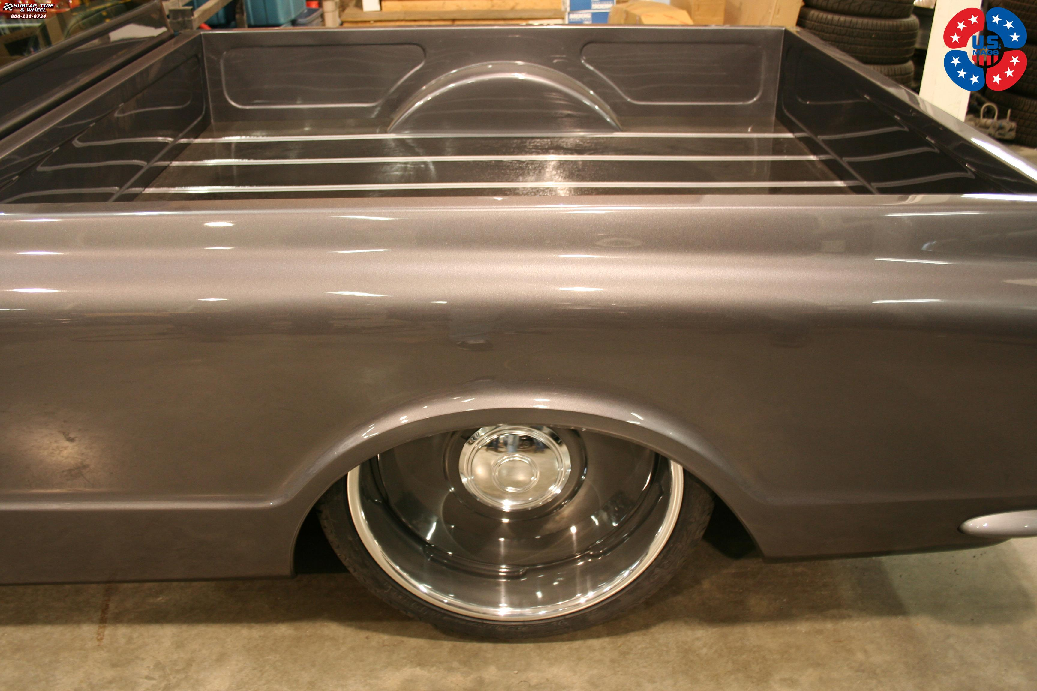 Chevrolet C 10 Us Mags Plain Jane U601 Wheels Gloss Grey W