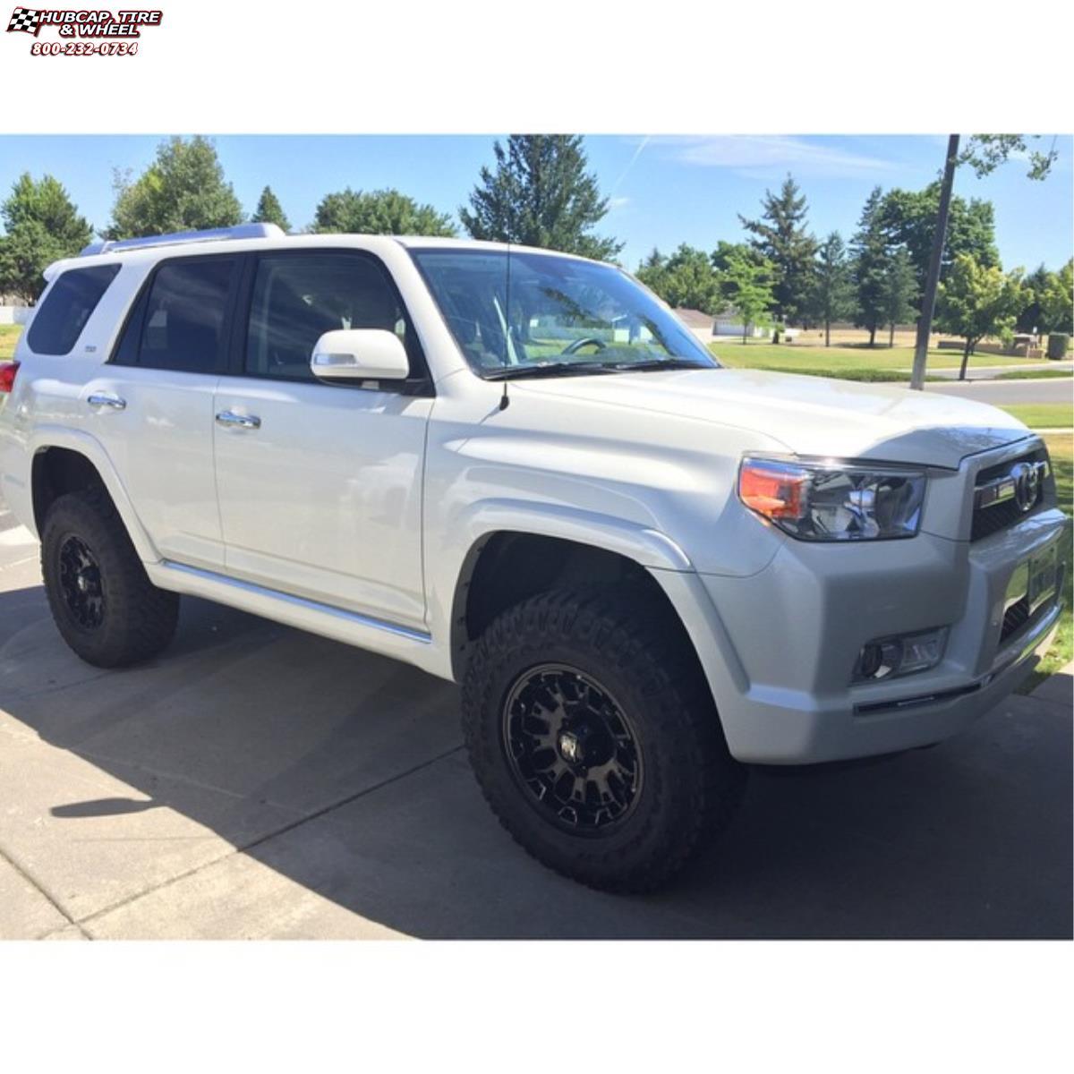 American Force Dually Wheels Black >> Toyota 4Runner XD Series XD800 Misfit Wheels Matte Black