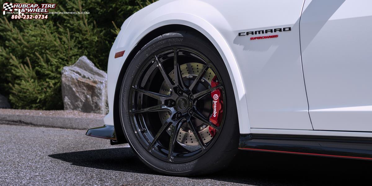 Chevrolet Camaro Niche Grand Prix H83 Wheels Gloss Black