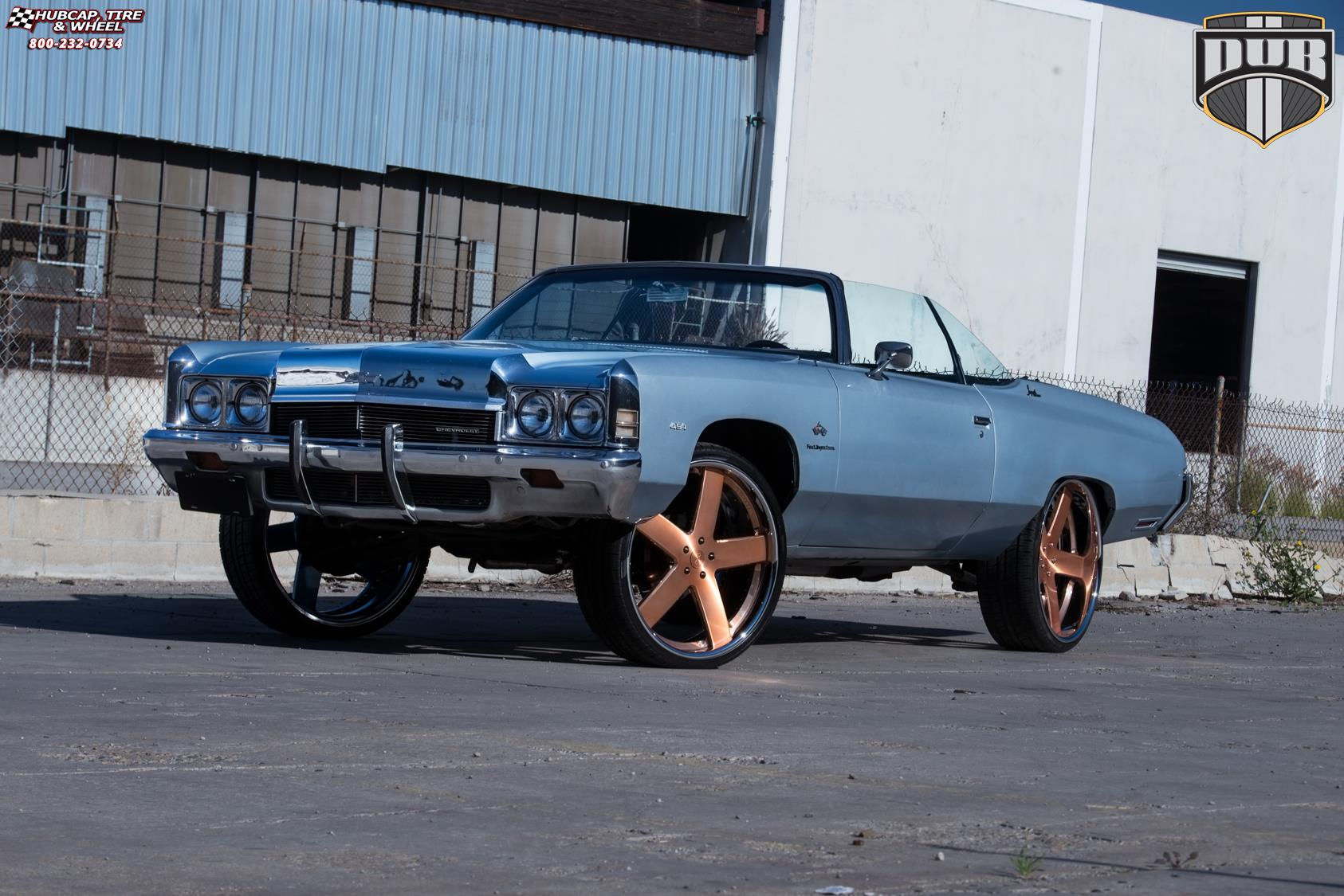 Chevrolet Impala Dub X84 - Baller Wheels Brushed w/ rose ...