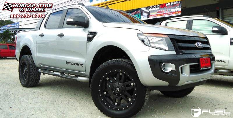 ford ranger fuel mojave wheels black. Black Bedroom Furniture Sets. Home Design Ideas