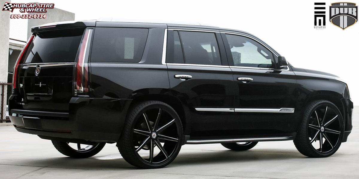 Cadillac Escalade With Black Rims >> Cadillac Escalade Dub Push - S109 Wheels Gloss Black & Milled