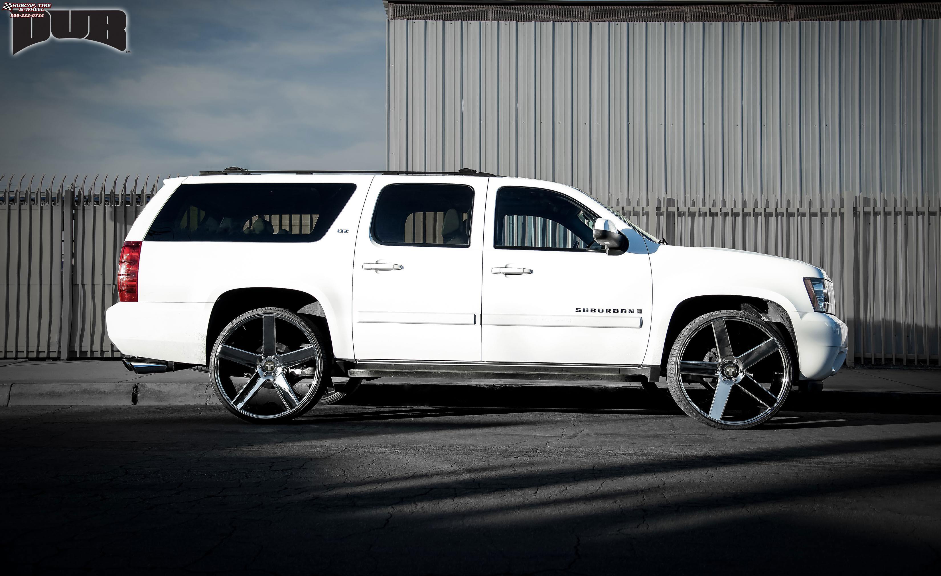 Chevrolet Suburban Dub Baller - S115 Wheels Chrome