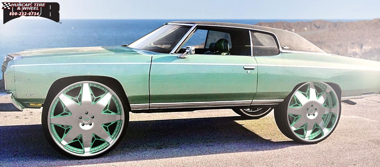 Pro Touring Wheels And Tires >> Chevrolet Impala Dub X-69 Wheels Chrome
