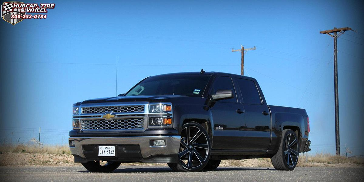 Chevrolet Silverado 1500 Dub Directa - S133 Wheels Black ...