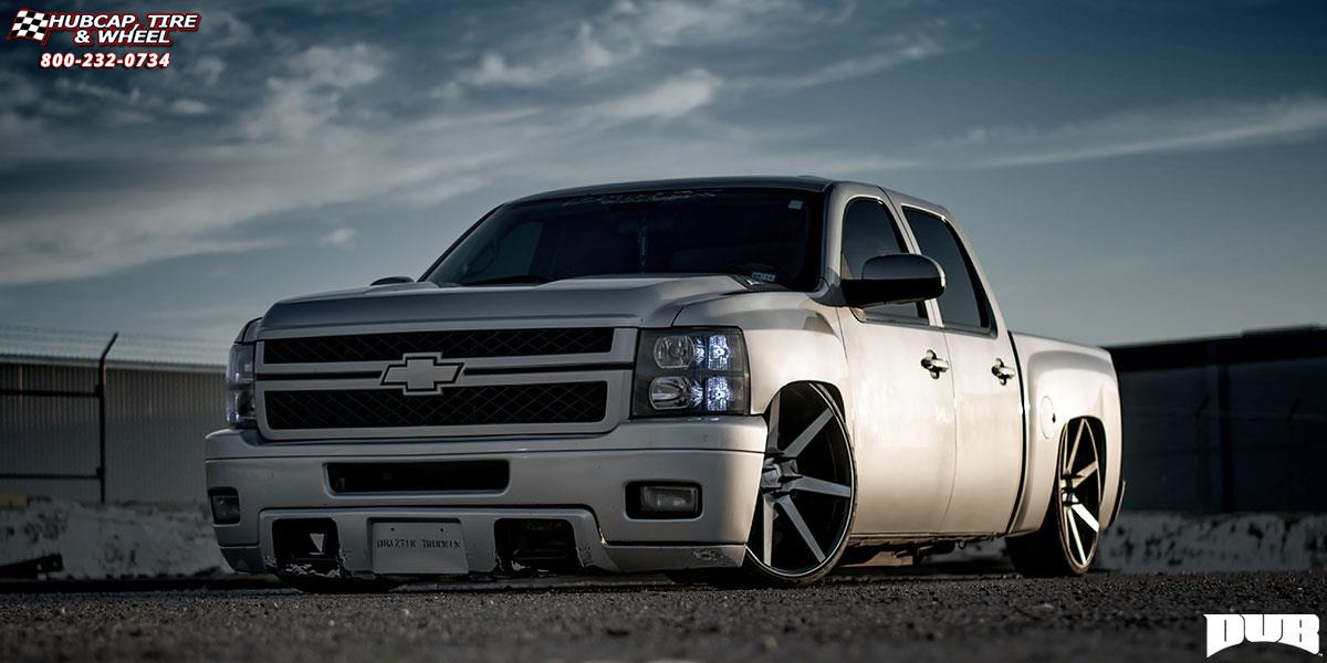 Chevrolet Silverado 1500 Dub Future - S127 Wheels Black ...