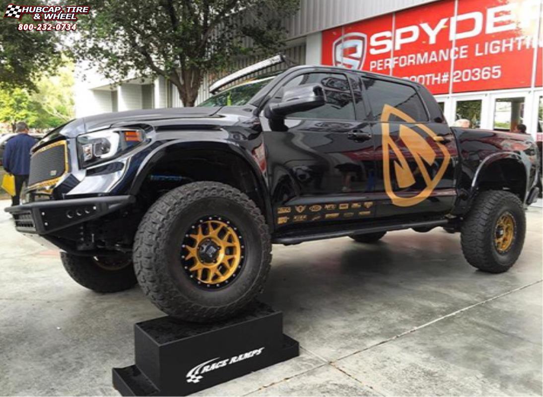 2014 Toyota Tundra Xd Series Xd127 Bully Wheels Satin Gold
