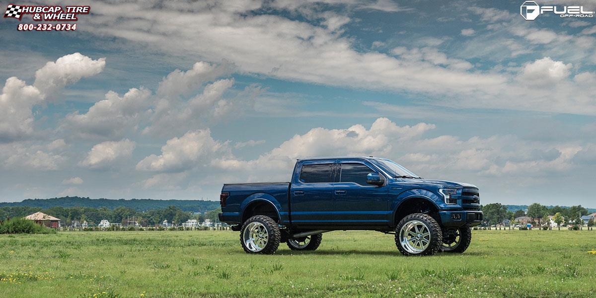 Ford F 150 Fuel Forged Ff09 Wheels Polished Or Custom Painted