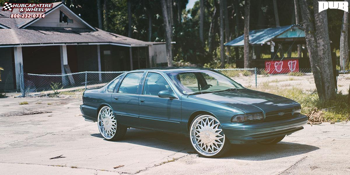 chevrolet impala dub s787 joker wheels chrome. Black Bedroom Furniture Sets. Home Design Ideas