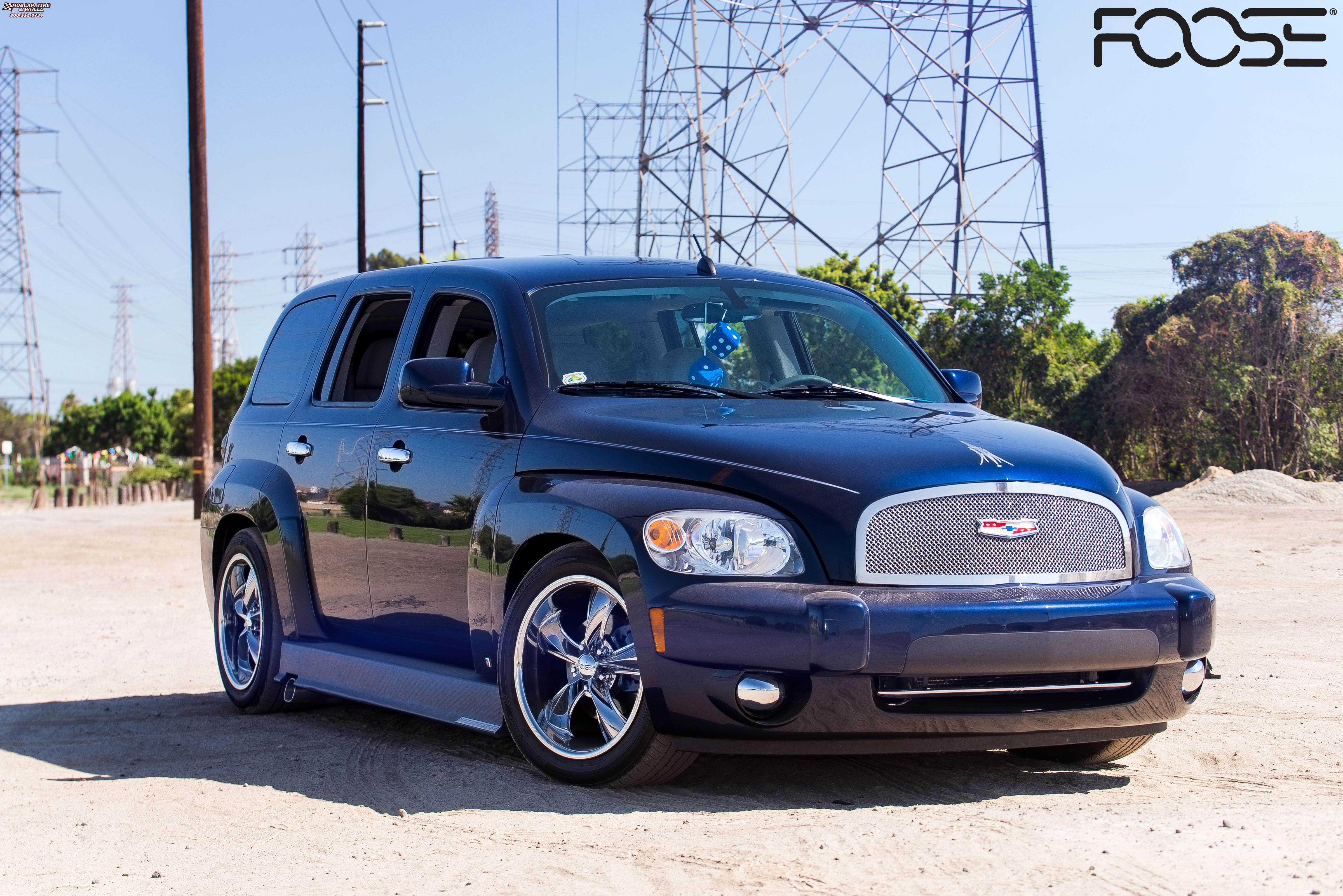 2007 Chevrolet HHR Foose Legend F103 Wheels PVD
