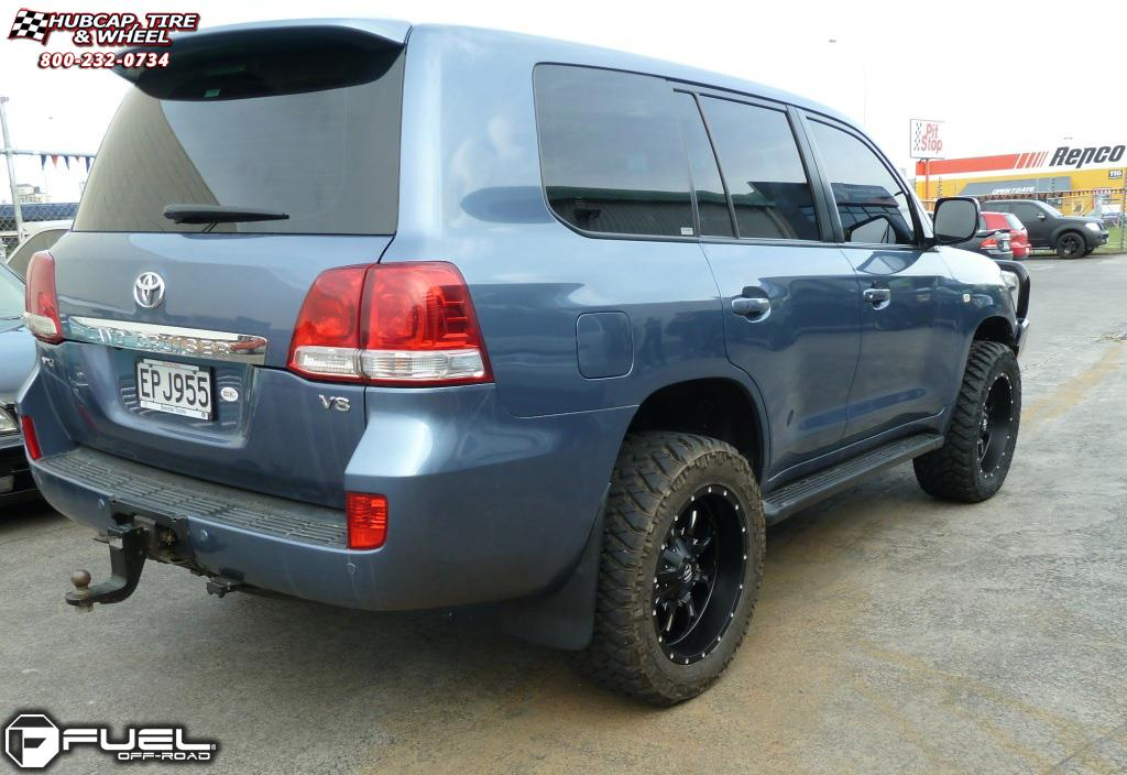 Toyota Land Cruiser Fuel Krank D517 Wheels Matte Black