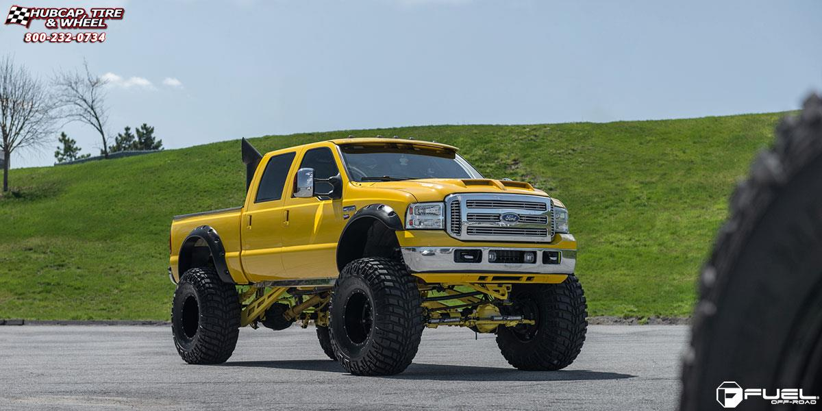 Off Road Rims And Tires Package >> Ford F-250 Super Duty Fuel Hostage D531 Wheels Matte Black