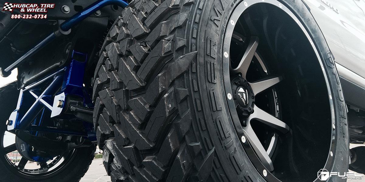 Gmc Sierra 2500 Hd Fuel Rampage D238 Wheels Anthracite