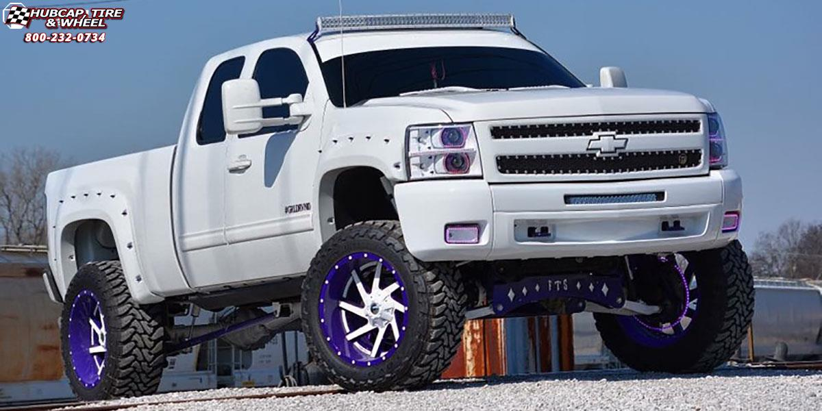 Chevrolet Silverado 2500 HD Fuel Renegade D265 Wheels ...