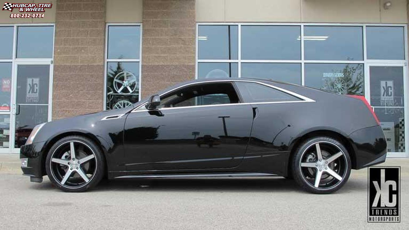 2014 Cadillac Cts Kmc Km685 District Wheels