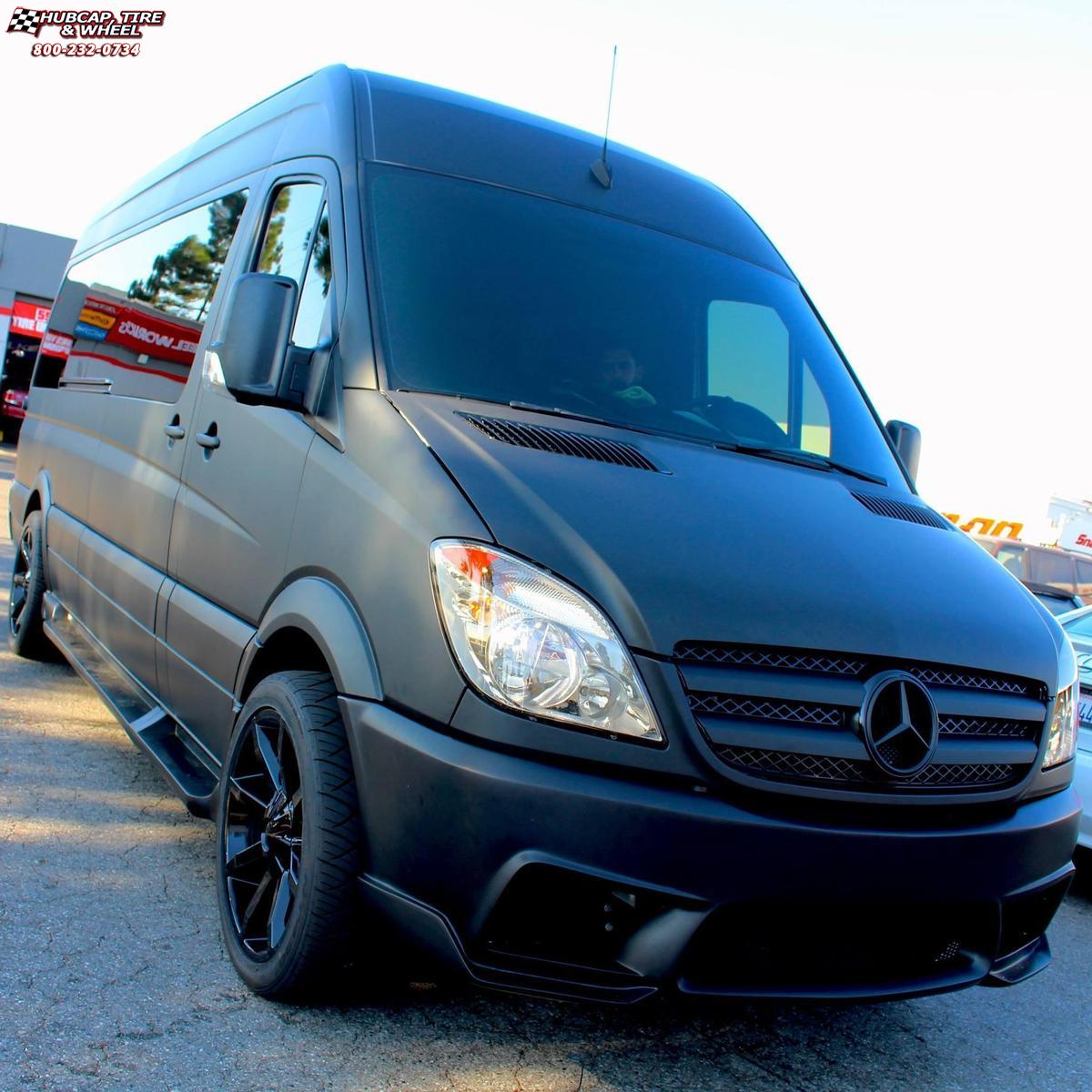 2014 mercedes benz sprinter 3500 kmc km651 slide wheels