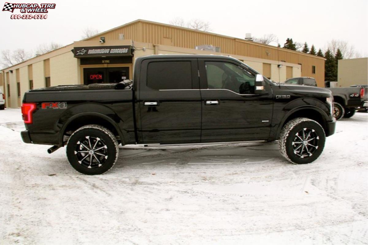 Ford F 150 Xd Series Xd779 Badlands Wheels Gloss Black