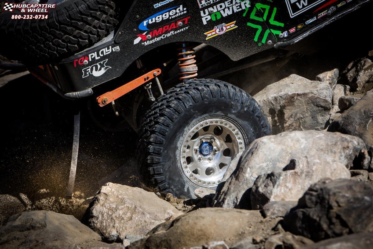 beadlock xd enduro jeep series wrangler wheels machined wheel silver face rims tire