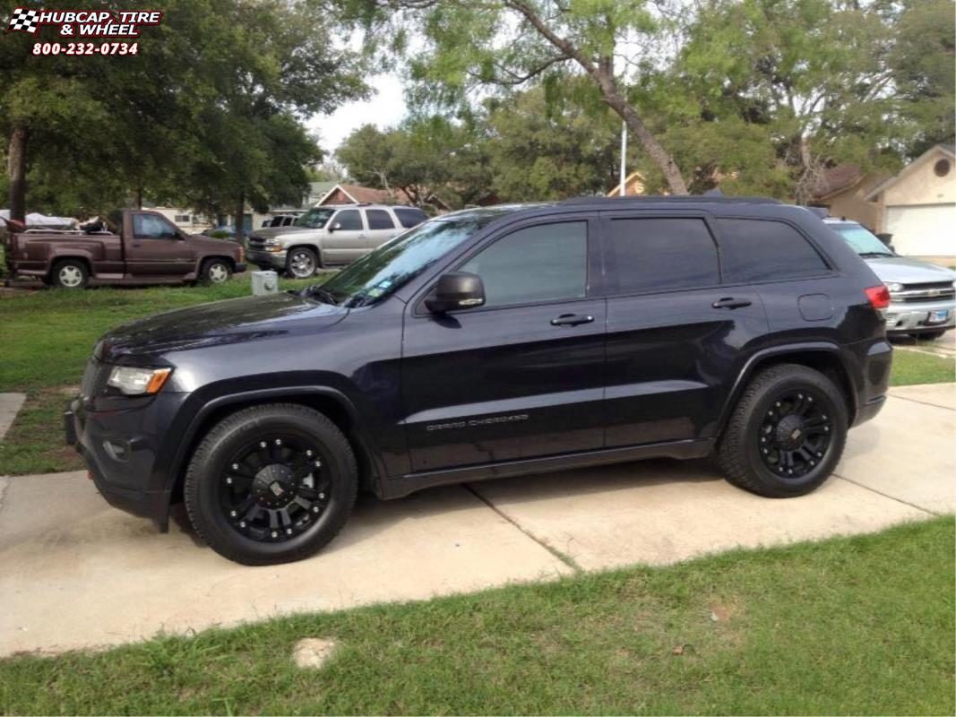 jeep grand cherokee xd series xd778 monster wheels matte black. Black Bedroom Furniture Sets. Home Design Ideas