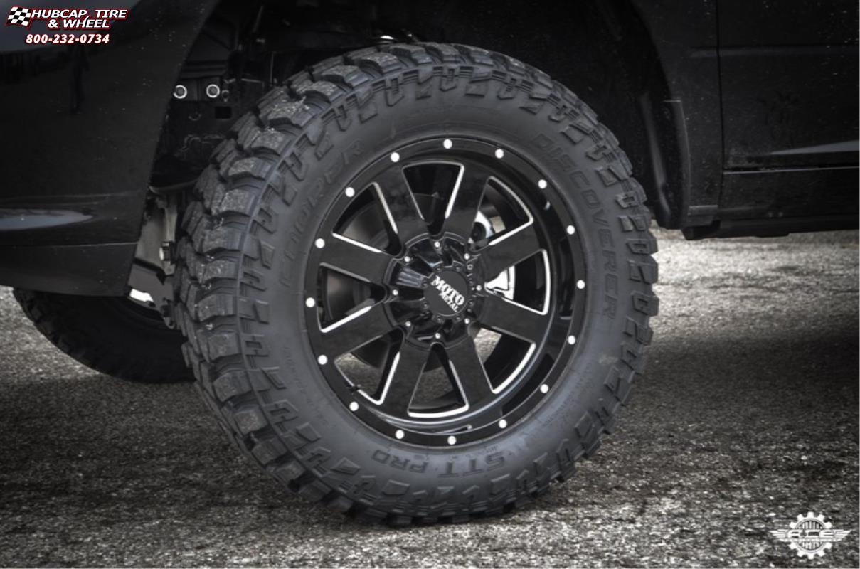 Dodge Ram 1500 Moto Metal Mo962 Wheels Gloss Black Amp Milled