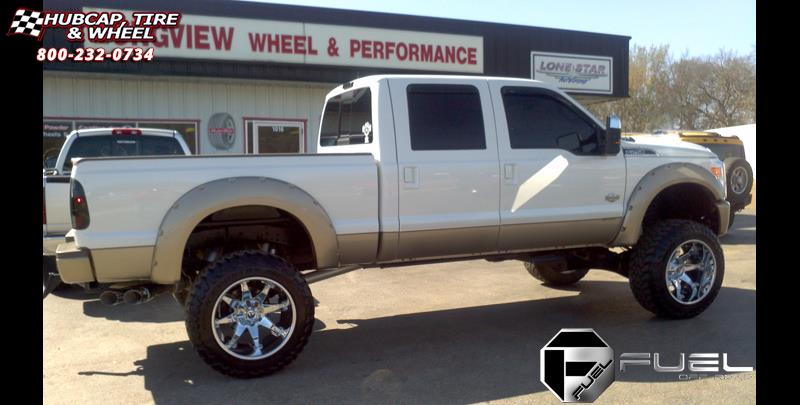 ford   super duty fuel octane  wheels chrome