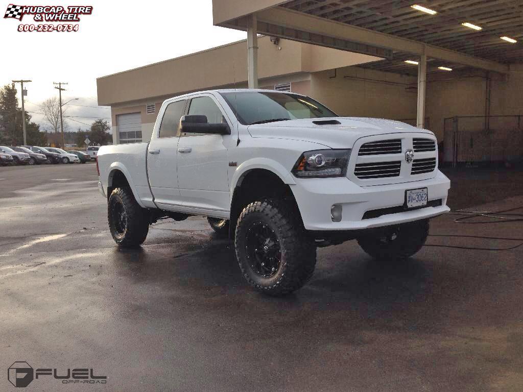 Black 2006 Dodge Ram 1500 >> Dodge Ram 1500 Fuel Hostage D531 Wheels Matte Black