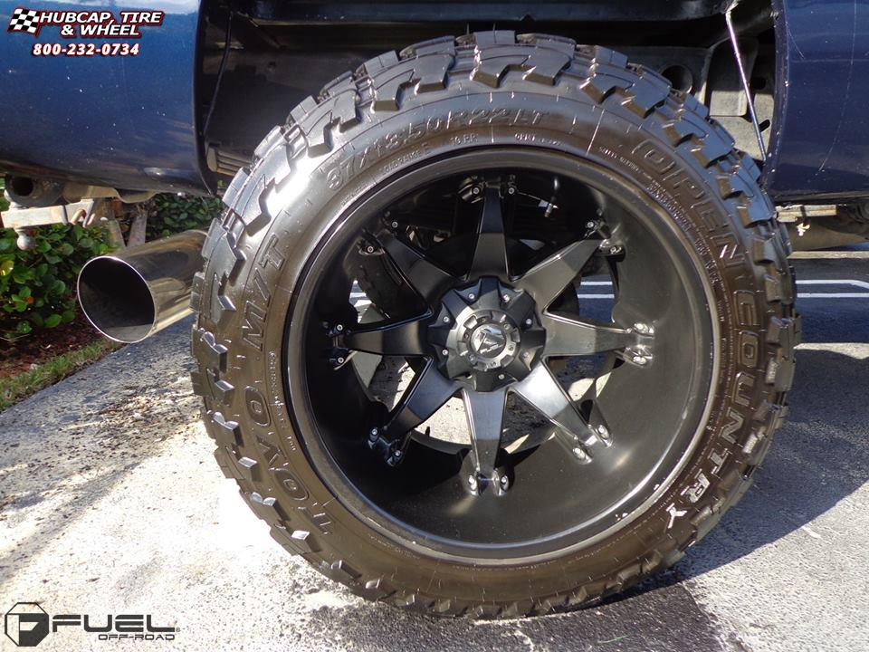 Chevrolet Silverado 2500 Hd Fuel Octane D509 Wheels Matte