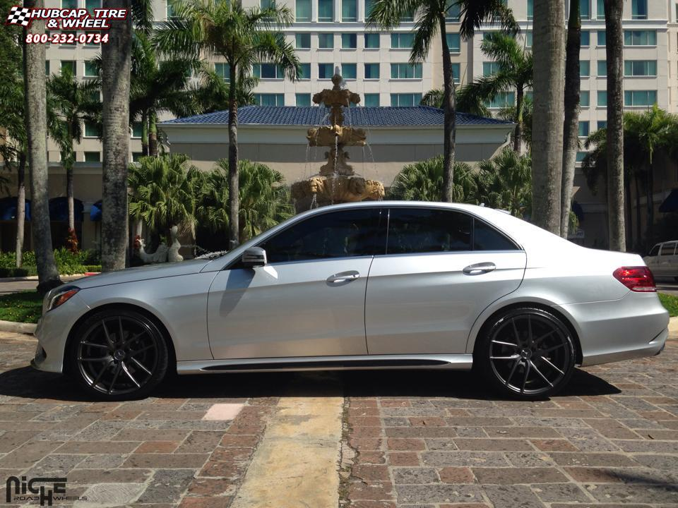mercedes benz e350 niche targa m129 wheels anthracite