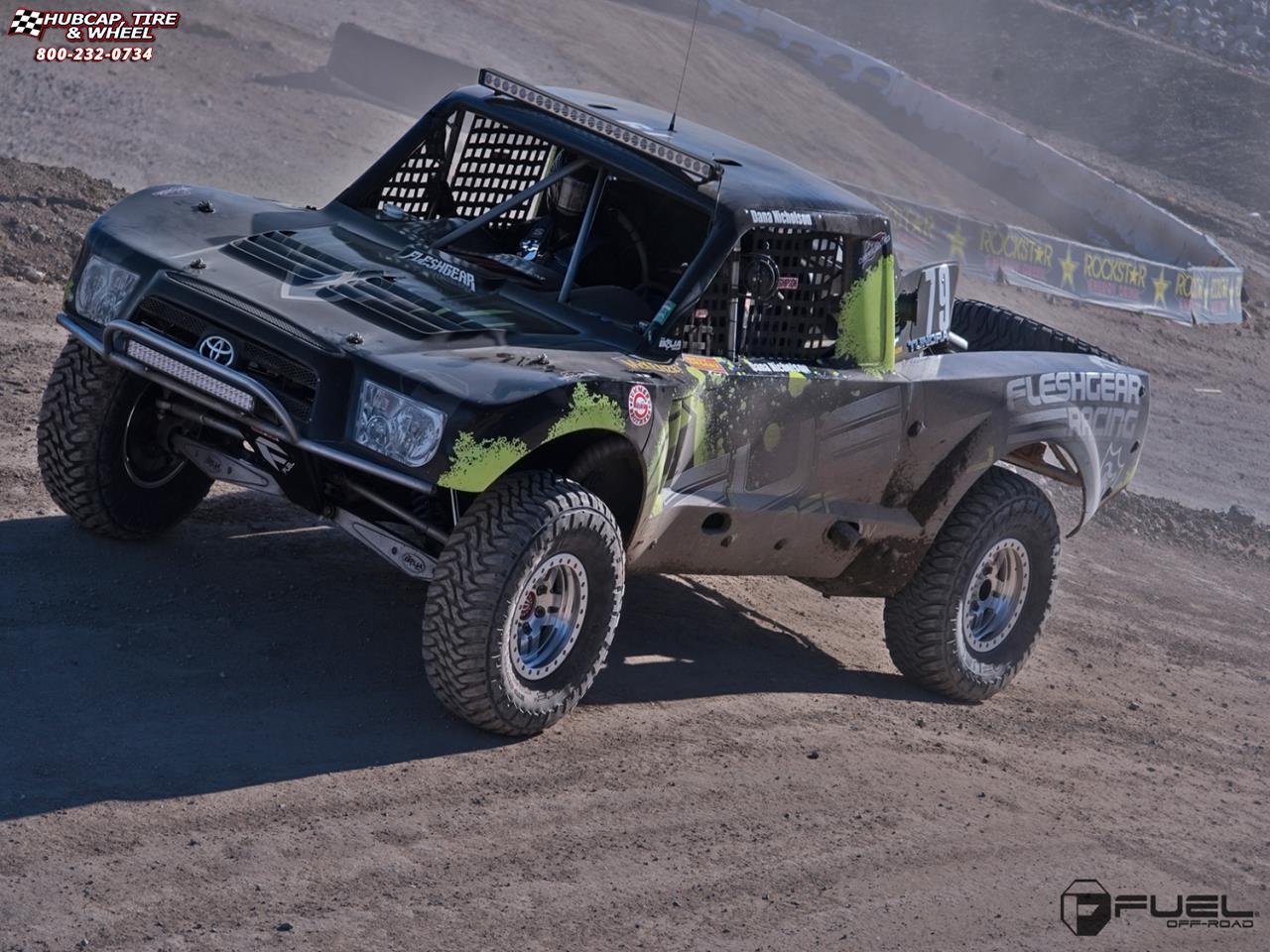 Fuel Trophy Wheels Tundra >> Toyota Tundra Trophy Truck Fuel Anza Beadlock D116 Wheels Raw Machined