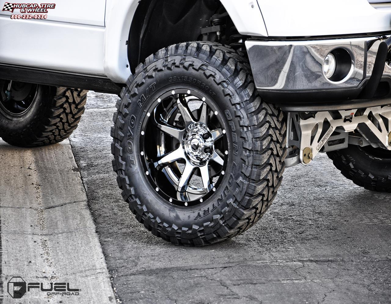 Ford F150 Bed Size >> Ford F-150 Fuel Rampage D237 Wheels PVD Chrome Center ...