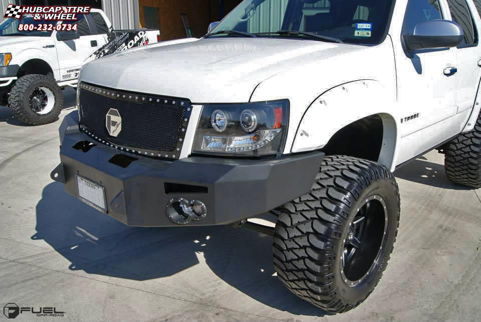 Chevy Tahoe Rims >> Chevrolet Tahoe Fuel Maverick D538 Wheels Black & Milled