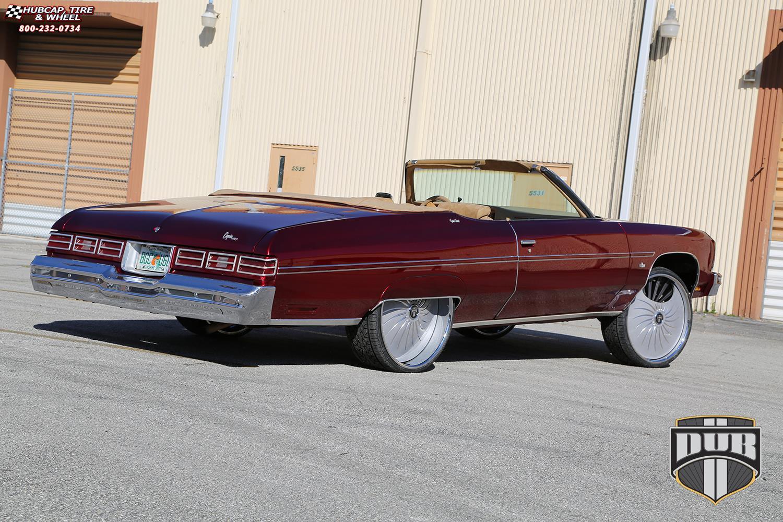 Chevrolet Impala Dub S509 - Fantasy Wheels Textured grey ...