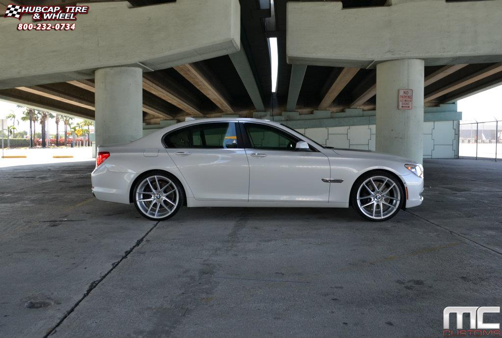 2006 Bmw 750i >> BMW 750i Niche Targa - M131 Wheels Silver & Machined