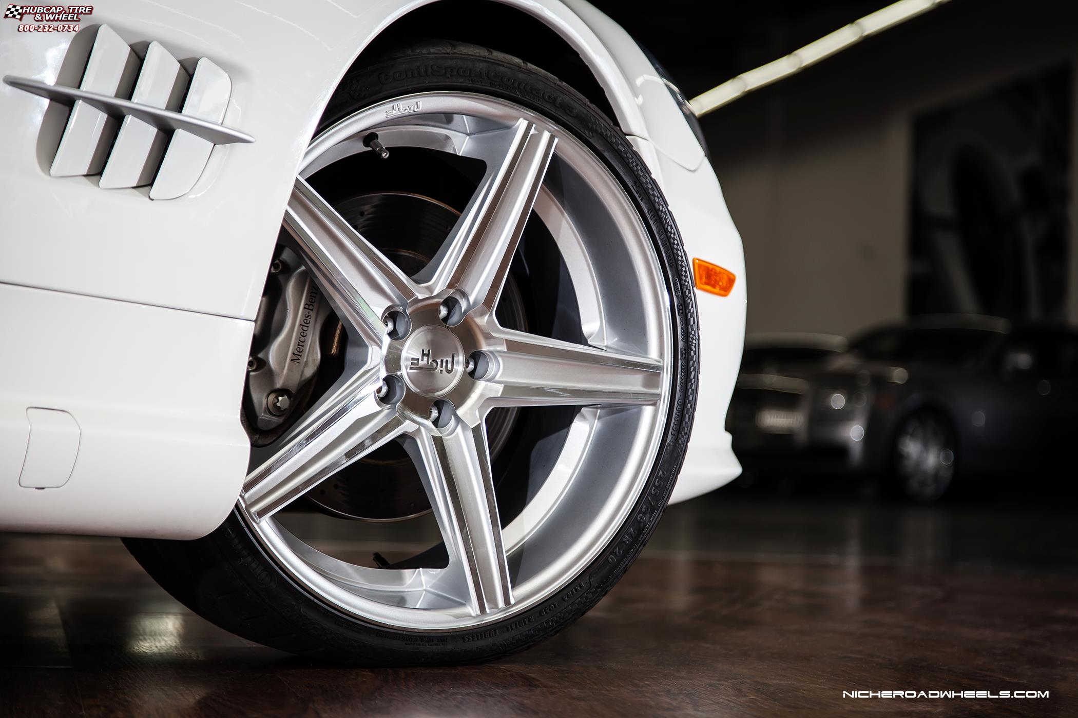 Mercedes benz sl class niche apex m126 wheels black for Mercedes benz wheel and tire protection
