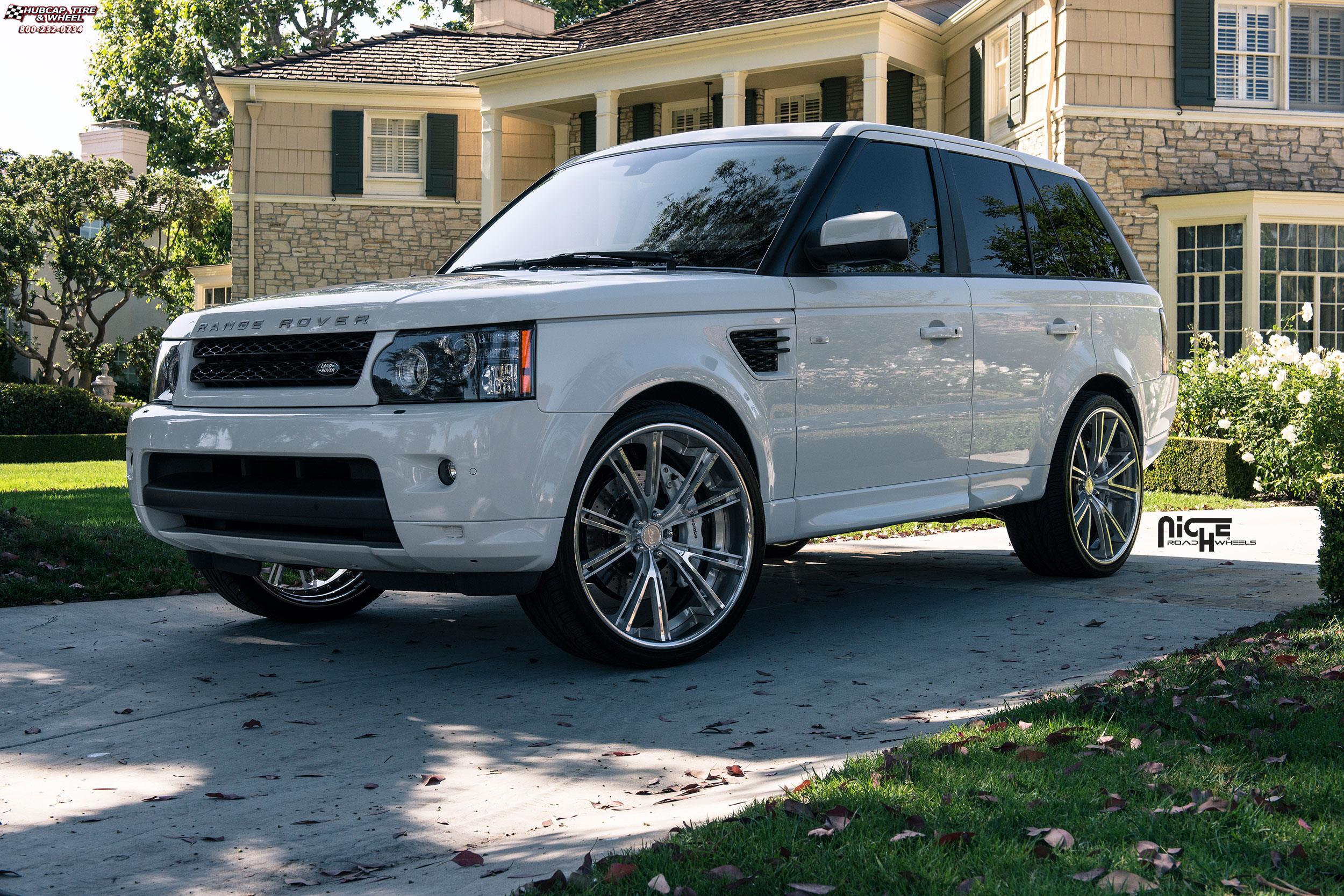Land Rover Range Rover Sport Niche Ritz Wheels Brushed