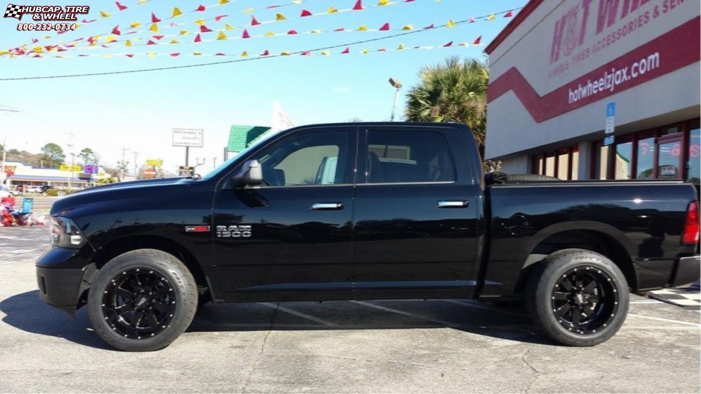 Custom 2005 Dodge Ram 1500 >> Dodge Ram 1500 Moto Metal MO962 Wheels Gloss Black & Milled