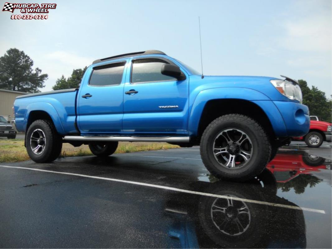 2012 toyota tacoma xd series xd801 crank wheels matte. Black Bedroom Furniture Sets. Home Design Ideas