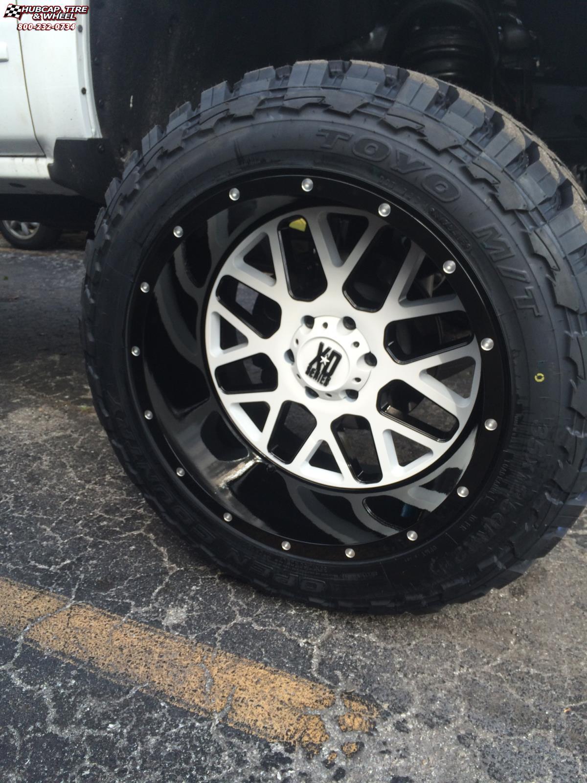 Chevrolet Silverado 1500 XD Series XD820 Grenade Wheels