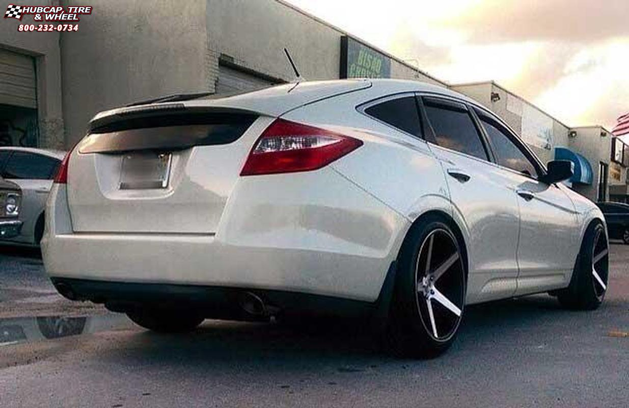 2014 Honda Crosstour Kmc Km685 District Wheels