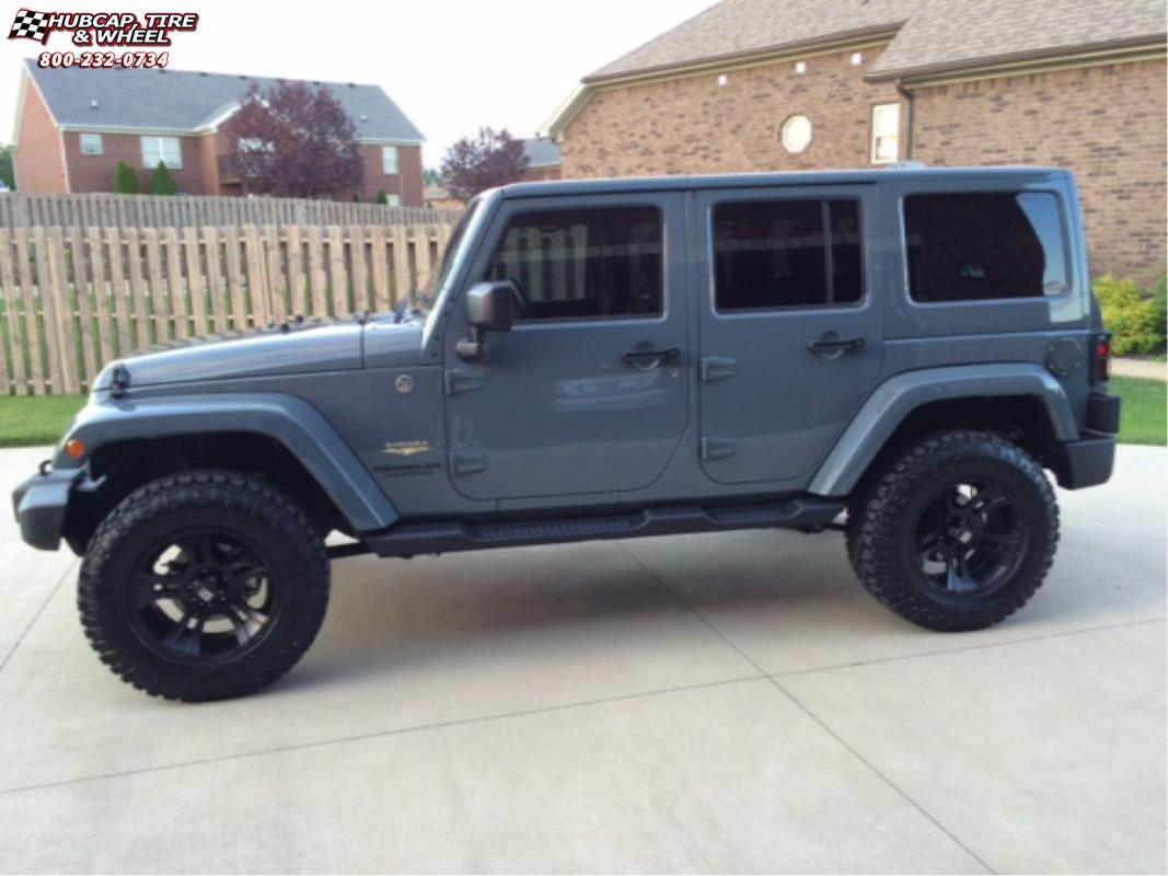 2014 Jeep Wrangler Xd Series Xd801 Crank Wheels Matte Black